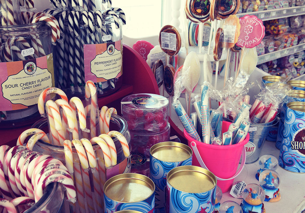 Sweets galore in the Treasure Chest