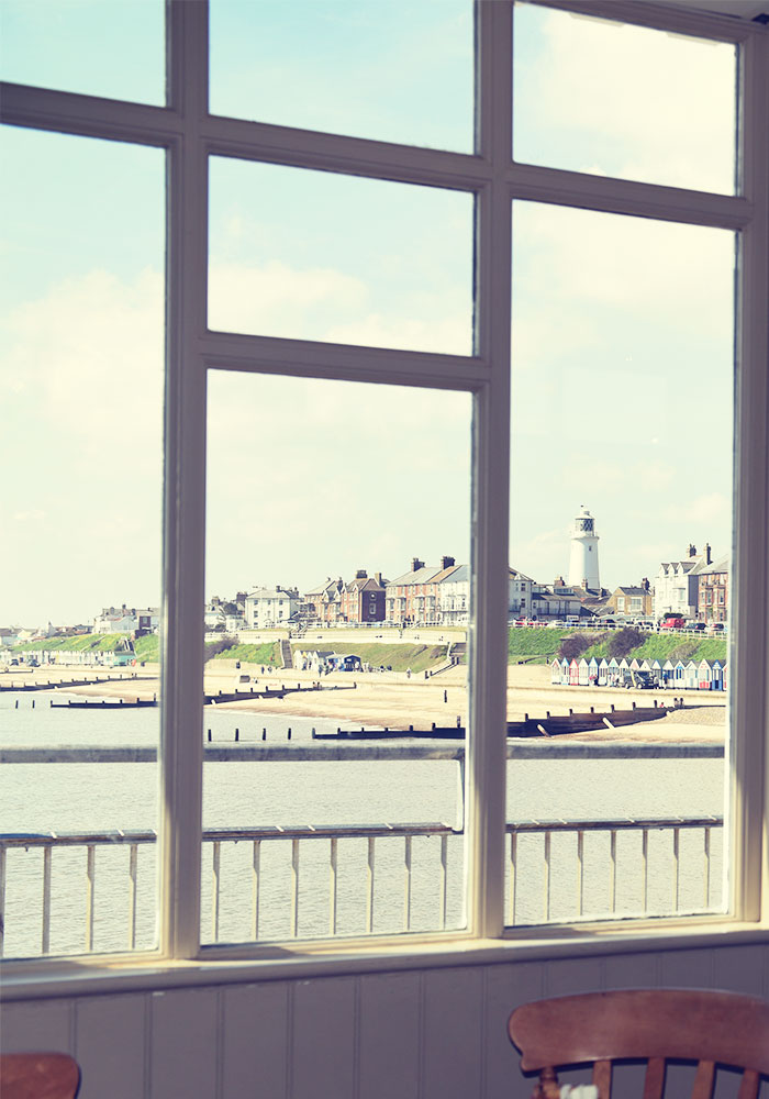 See Southwold from inside The Boardwalk