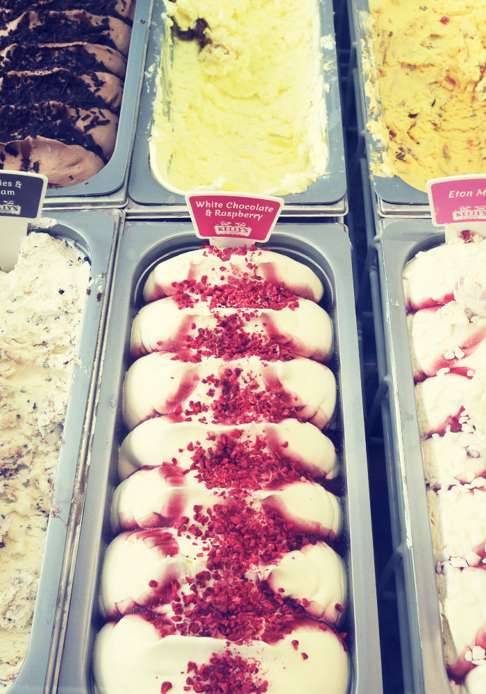 Selection of Kelly's Ice Cream