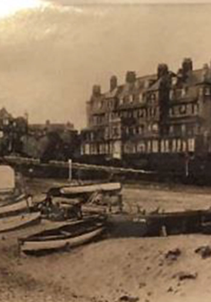 Historic photo of Southwold seafront