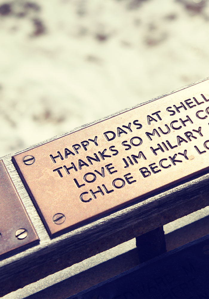 Get your plaque on the Pier