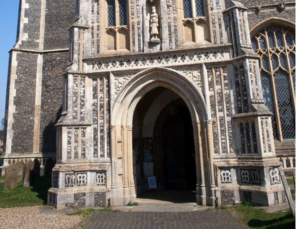 Church of St Edmund entrance