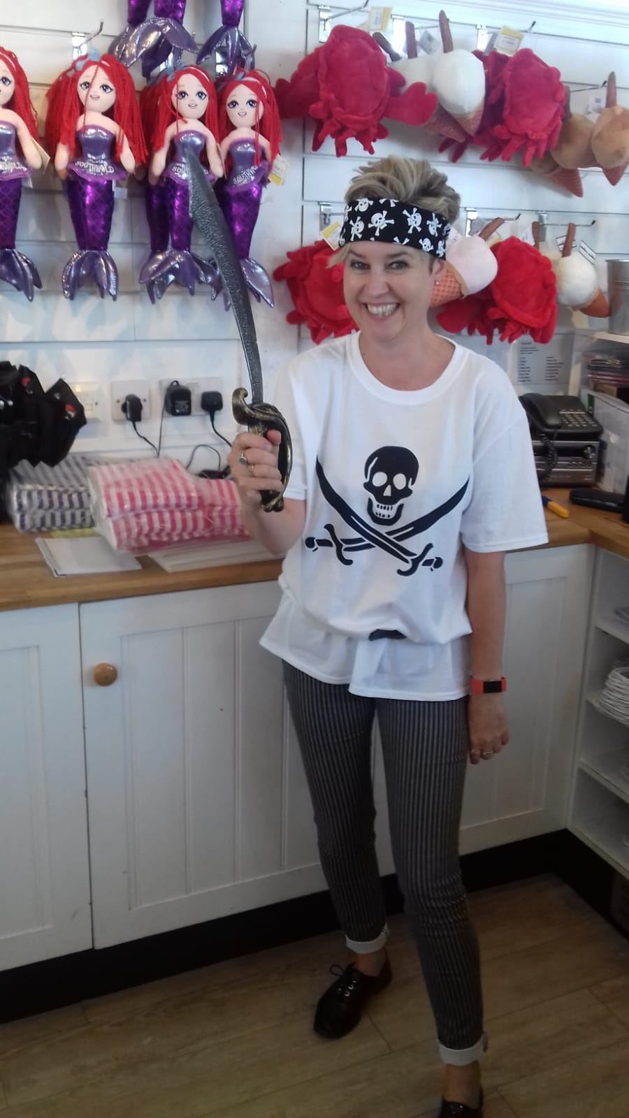 Pirate Trail on Southwold Pier