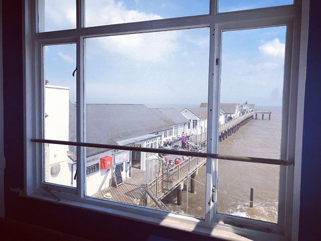 2 days to go – we can't wait 😊 🍸 #pierview