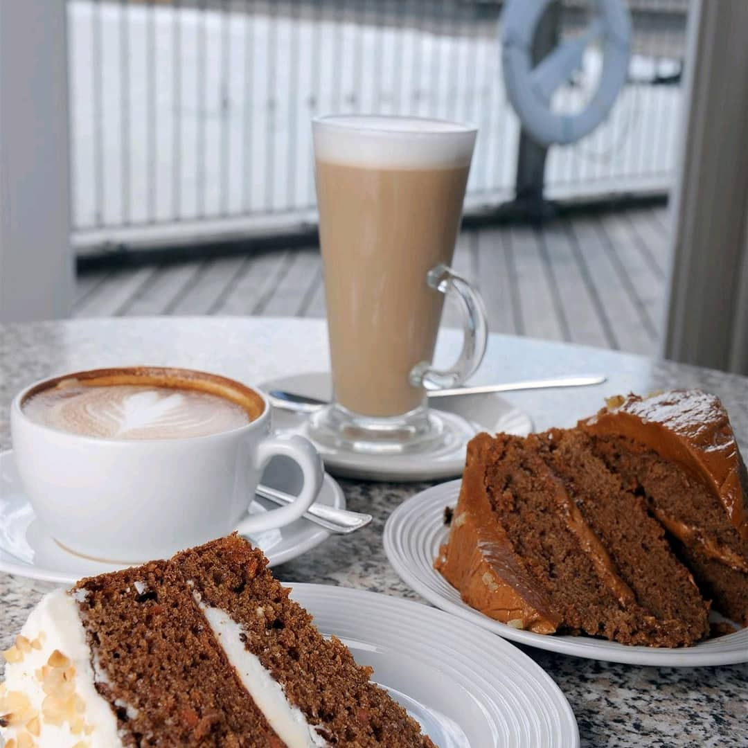 School may be back but the fun doesn't stop at the pier. The Boardwalk will be doing a special promotion coffee & cake combo for only £3.99. ☕🍰⠀ #suffolk #southwoldpier #southwold