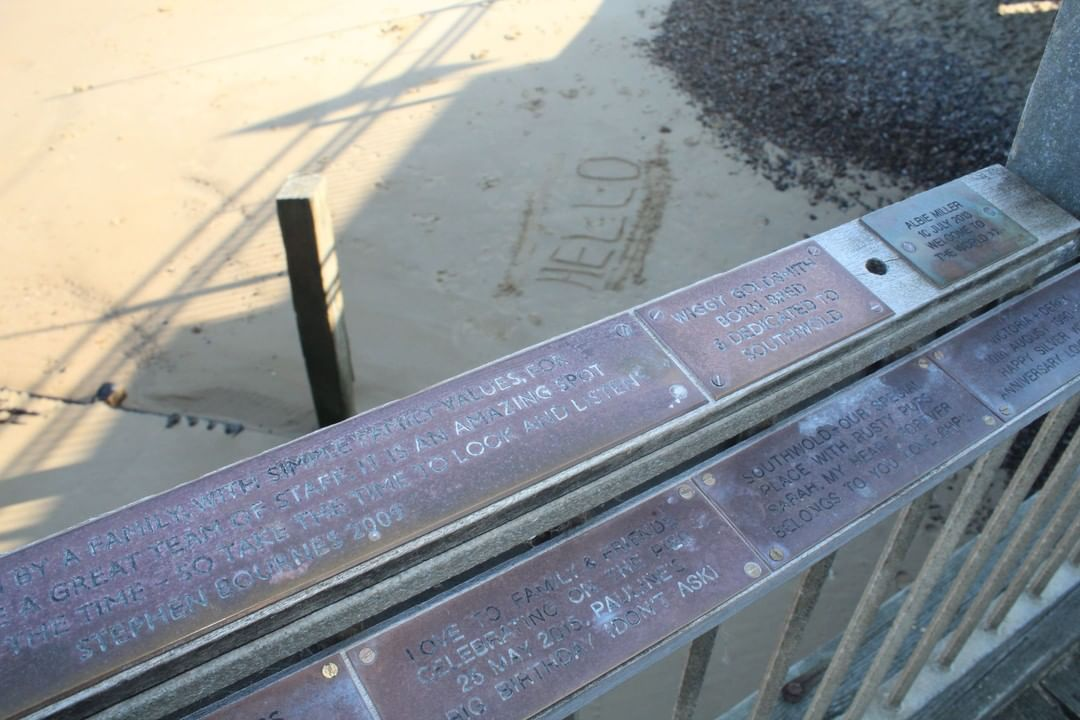 Only 14 days to go until our Pier Plaque event – £75 off any celebratory plaques!!⠀ #southwoldpier #southwold #suffolk