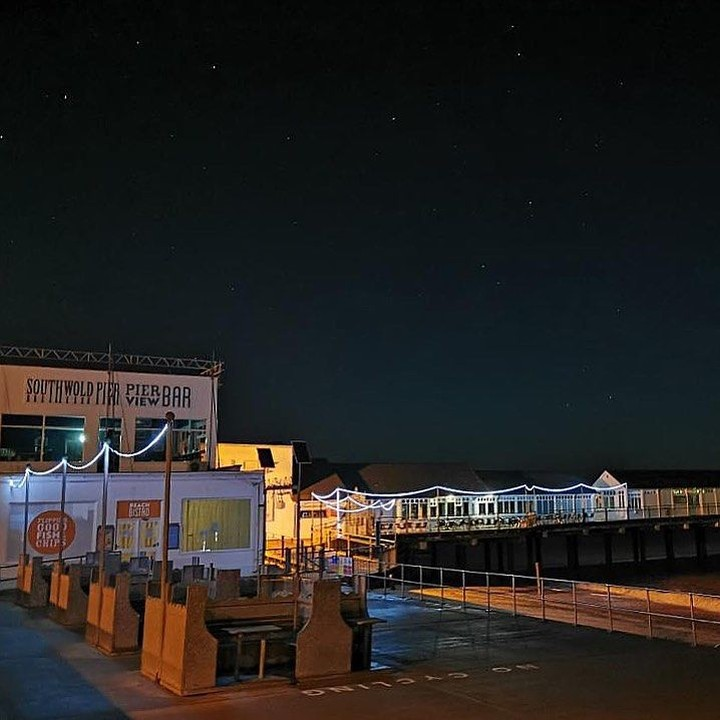 "Great shot! 😍⠀ Reposting @letsgosouthwold:⠀ …⠀ ""Stars are shining bright this evening 🌟 #southwoldpier ⠀ __⠀ #visitsuffolk #eastanglia #norfolk #bestofsuffolk #suffolkmag #southwold #suffolk #southwoldsausagewalk #southwoldbeach #suffolklandscapes #photography #photo #stars #nightshoot #pier #southwoldtourism"""
