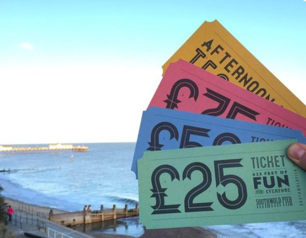 "Our vouchers are the ""Pier-fect"" gift for Christmas!  These can be purchased from the Boardwalk restaurant. https://buff.ly/2Ro5MO8"