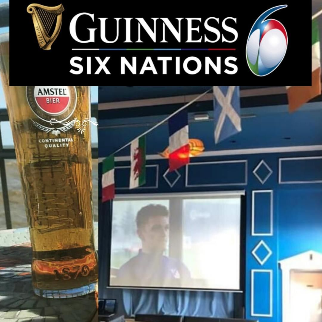 Six Nations back on the big screen at the Pier View Bar from today!⠀ #sixnations #southwoldpier #suffolk