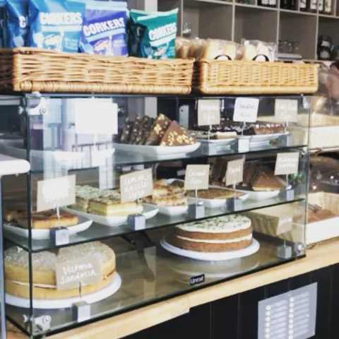 Warm up in the Clockhouse this winter with a coffee (or tea) and cake combo for £4.95!⠀ #southwoldpier #cake #suffolk