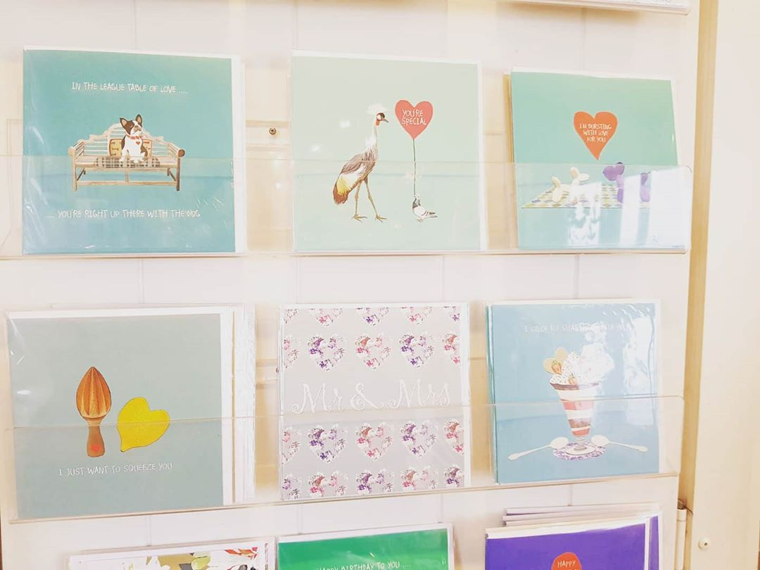We have a beautiful range of gifts and cards pier-fect for Valentine's in Seaweed & Salt! ⠀ #valentines #gift #romance #suffolk #southwoldpier