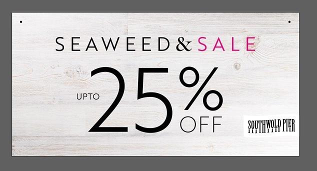 It's nearly time!! #onedaytogo #southwoldpier #retailsale #sale #bargainhunting