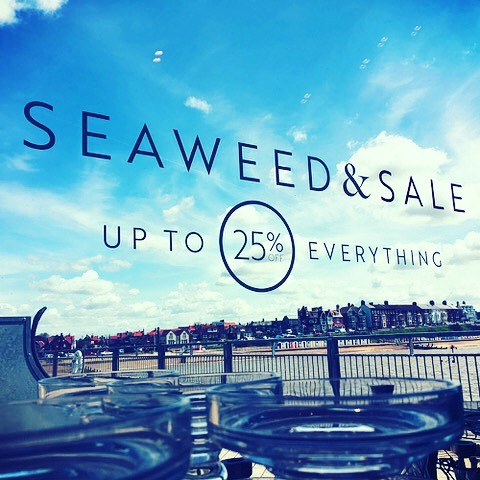 The spring Sale is in full swing at Seaweed & Salt. If you find yourself in Southwold, pop down to the Pier and take a look at our fantastic homeware offers! #southwoldpier #southwold #seaweed&salt #seaweed&sale #sale #homeware