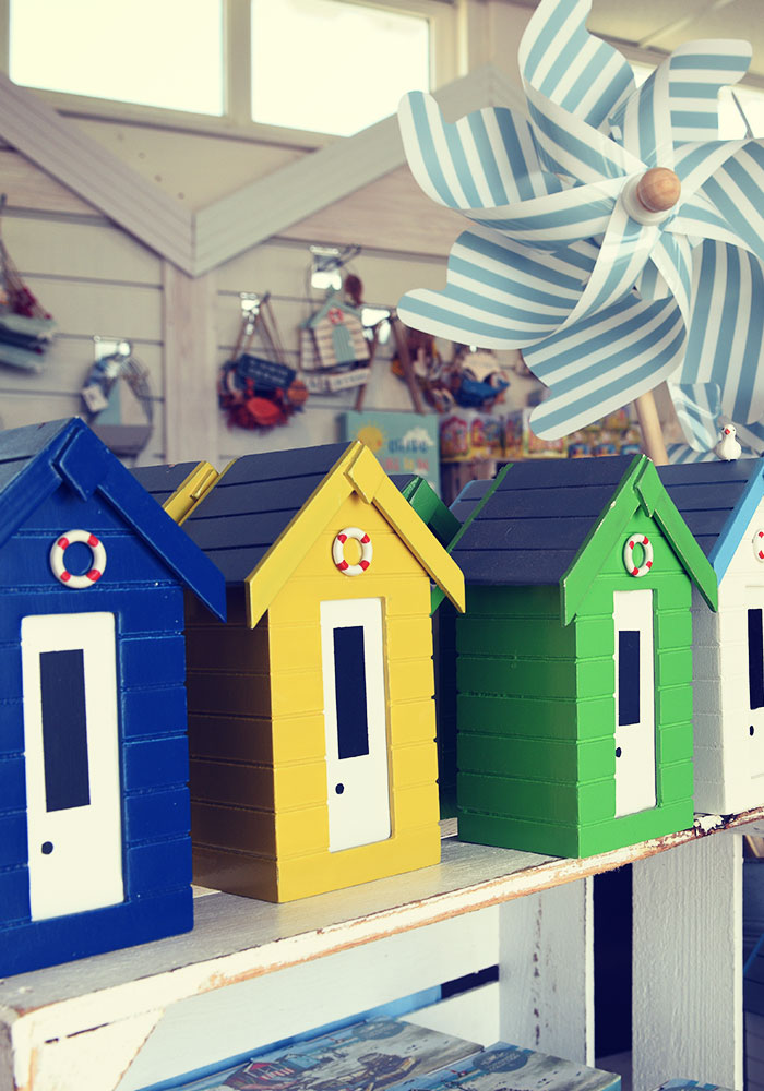 Beach Huts in Southwold