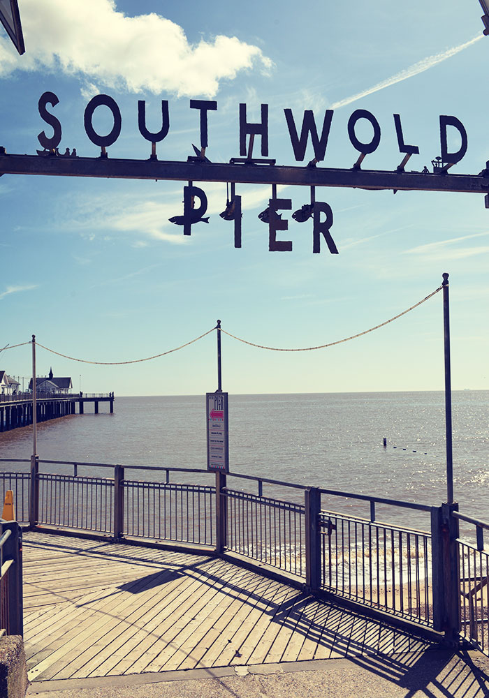 Entrance to Southwold Pier